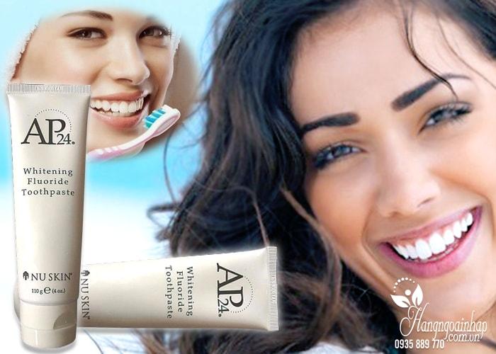Kem đánh trắng răng Nuskin AP24 - Whitening Fluoride Toothpaste của mỹ