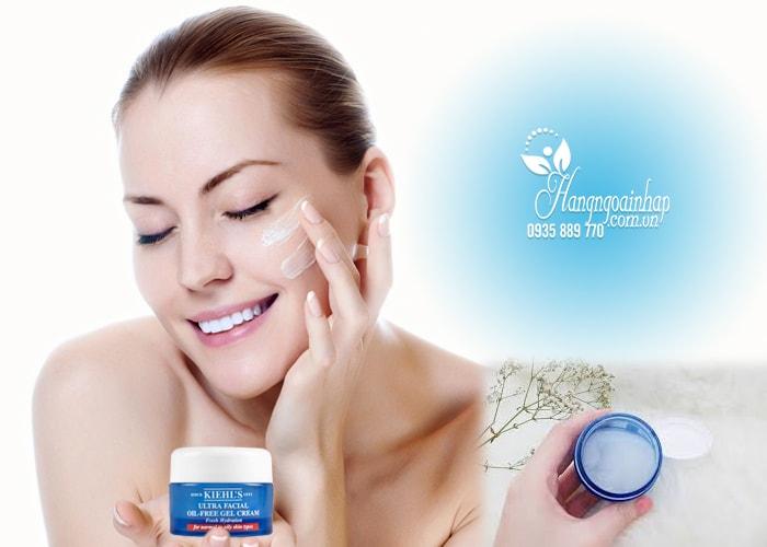Kem dưỡng Kiehl's Ultra Facial Oil-Free Gel Cream của Mỹ
