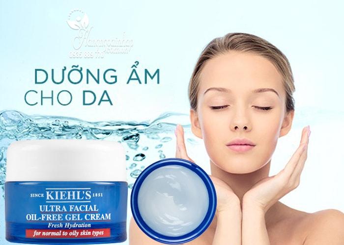 Kem dưỡng Kiehl's Ultra Facial Oil-Free Gel Cream của Mỹ 7ml