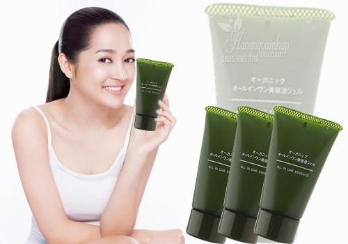 Kem dưỡng da hữu cơ Muji All In One Essence 30g của Nhật Bản