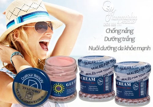 Kem dưỡng trắng da chống nắng ST Dalfour Gluta Sunscreen Cream