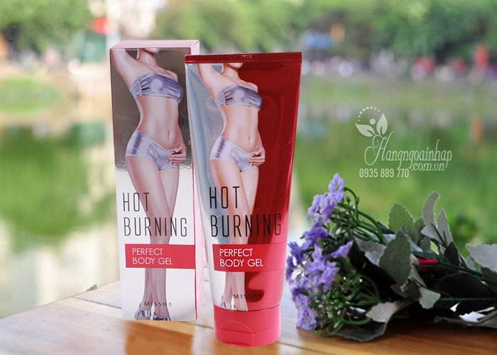 Kem Massage tan mỡ Missha Hot Burning Perfect Body Gel 200ml