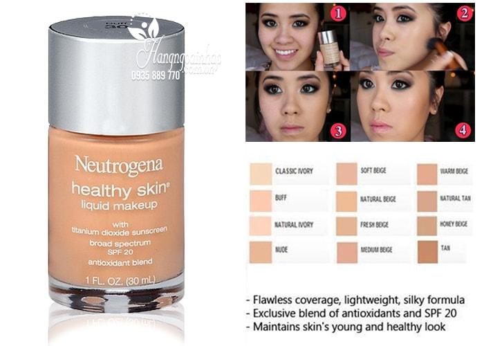 Kem nền Neutrogena Healthy Skin Liquid Makeup 30ml của Mỹ