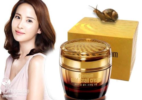 Kem ốc sên vàng chống lão hóa Goodal Premium Gold Snail Cream 50ml