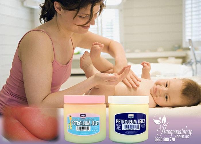 Kem trị hăm tã cho bé Petroleum Jelly của Mỹ