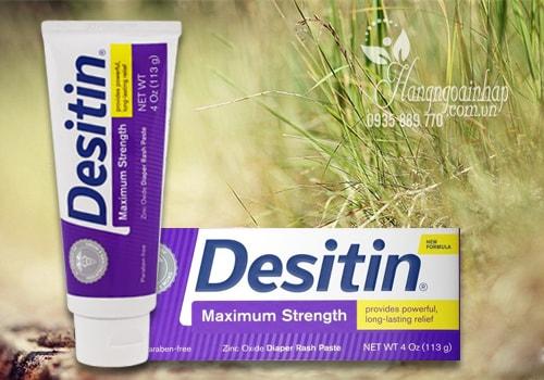 Kem trị hăm cho bé Desitin Maximum Strength màu tím 113g của Mỹ