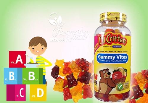 Gummy Vites Kẹo Dẻo Bổ Sung Vitamin Và Khoáng Chất Cho Bé