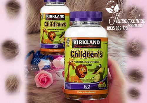 Kẹo dẻo Kirkland Signature Childrens Complete Multivitamin Gummies