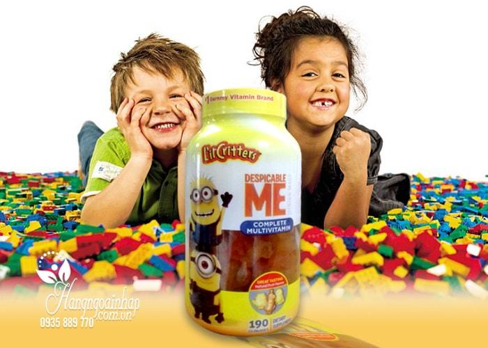 Kẹo dẻo cho bé L'il Critters Minions Multivitamins Gummies của mỹ