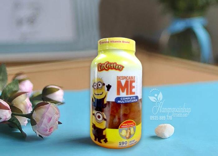 Kẹo dẻo cho bé L'il Critters Minions Multivitamins Gummies 190 viên