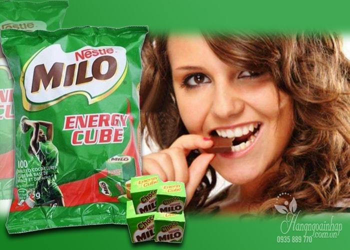 Kẹo Milo Energy Cube 100 viên của Thái Lan