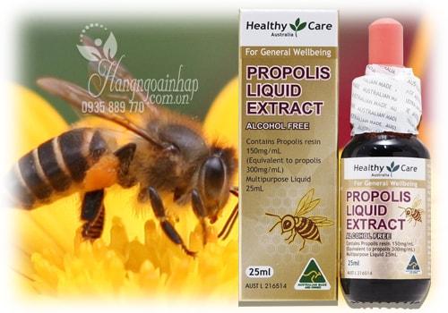 Keo ong Healthy Care Propolis Liquid Extract của Úc 25ml