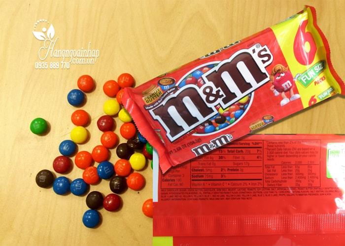 Kẹo Socola M&M Fun Size 106g nhập khẩu từ Mỹ