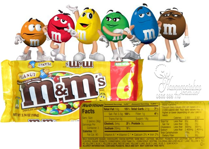 Kẹo Socola M&M Fun Size 106g nhập khẩu từ Mỹ, giá tốt nhất