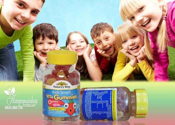 Nature's Way Kids Smart Vita Gummies Omega 3 Fish Oil 60 viên
