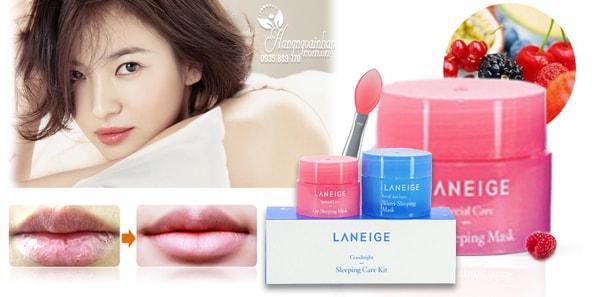 Bộ sản phẩm mặt nạ ngủ Laneige Goodnight Sleeping Mask của Hàn Quốc