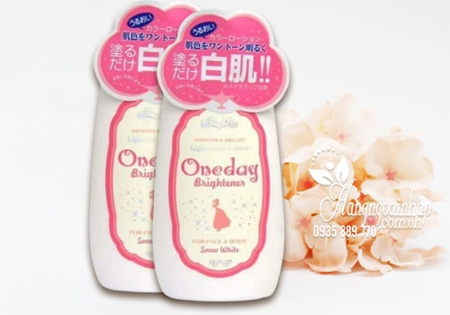 Lotion dưỡng trắng da Snow White One Day Brightener 120ml Nhật Bản