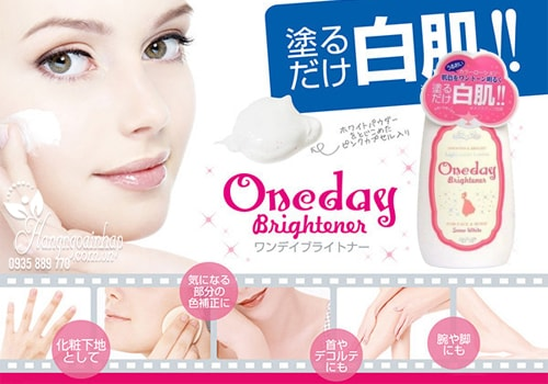 Lotion dưỡng trắng da Snow White One Day Brightener 120ml