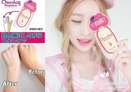 Lotion dưỡng trắng da Snow White One Day Brightener của Nhật Bản