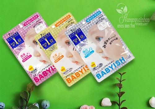 Mặt nạ dưỡng da Kose Babyish 7 miếng của Nhật Bản