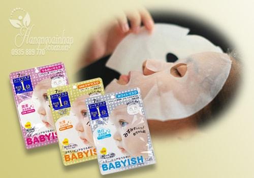 Mặt nạ dưỡng da Kose Babyish 7 miếng Nhật Bản