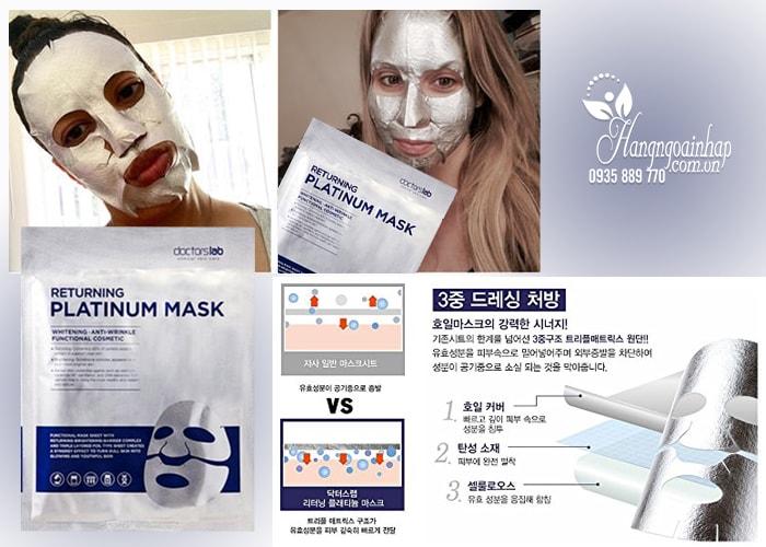 Mặt nạ dưỡng trắng da Doctorslab Returning Platinum Mask