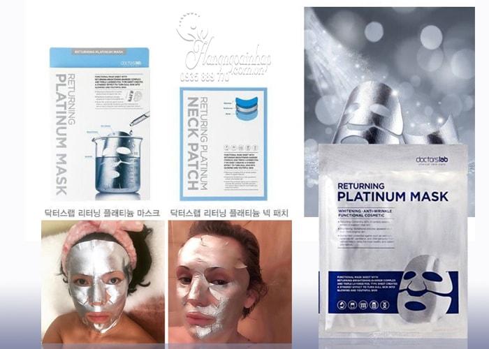 Mặt nạ dưỡng trắng da Doctorslab Returning Platinum Mask của Hàn Quốc