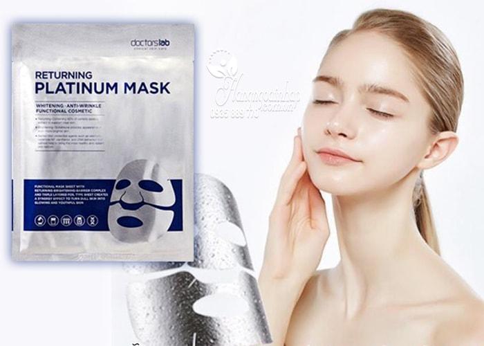 Mặt nạ dưỡng trắng da Doctorslab Returning Platinum Mask hộp 5 miếng