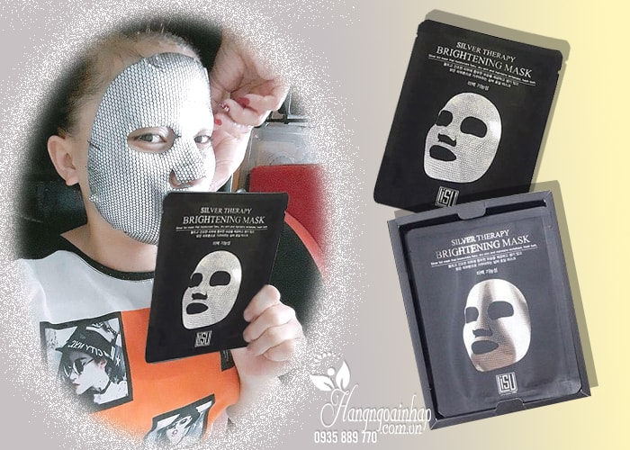 Mặt nạ giấy thiếc Lisu Mask hộp 5 miếng Hàn Quốc