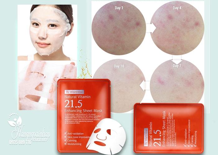 Mặt nạ giấy OST Natural Vitamin 21.5 Enhancing Sheet Mask Hàn Quốc