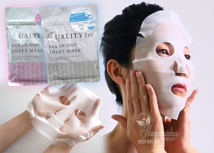 Mặt nạ giấy Quality First All in one Sheet Mask của Nhật Bản