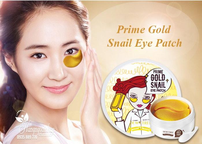 Mặt nạ đắp mắt Prime Gold Snail Eye Patch 90g