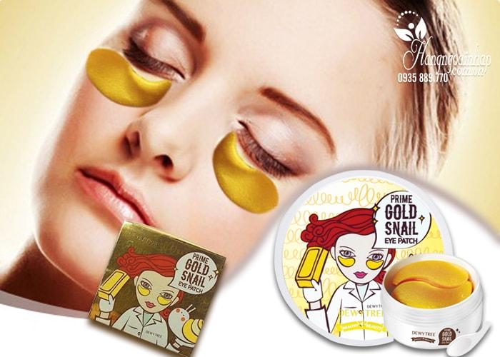 Mặt nạ đắp mắt Prime Gold Snail Eye Patch Hàn Quốc