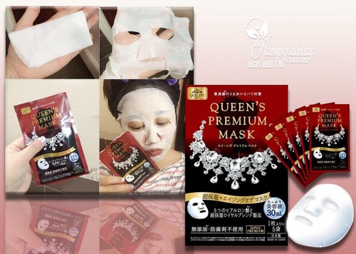 Mặt nạ dưỡng da Quality First Queen's Premium Mask của Nhật
