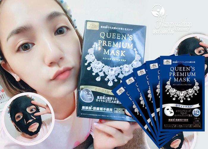 Mặt nạ dưỡng da Quality First Queen's Premium Mask màu xanh