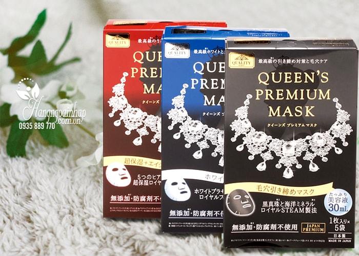 Mặt nạ dưỡng da Quality First Queen's Premium Mask của Nhật Bản