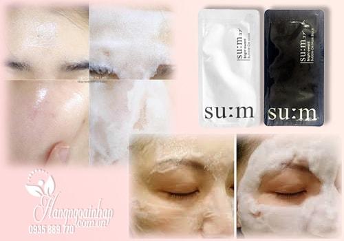 Mặt nạ sủi bọt thải độc Sum 37 Bright Award Bubble De Mask Hàn Quốc