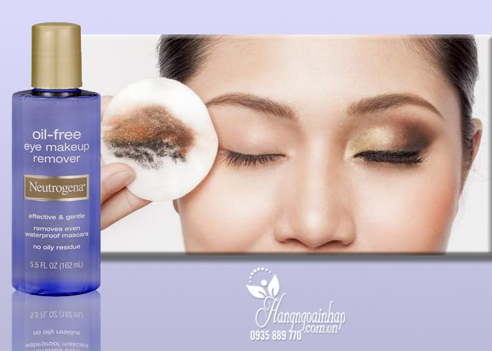 Nước tẩy trang mắt môi Neutrogena Oil-Free Eye Makeup Remover