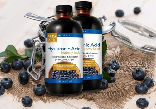 Neocell Hyaluronic Acid Blueberry Liquid Chai 473ml Của Mỹ