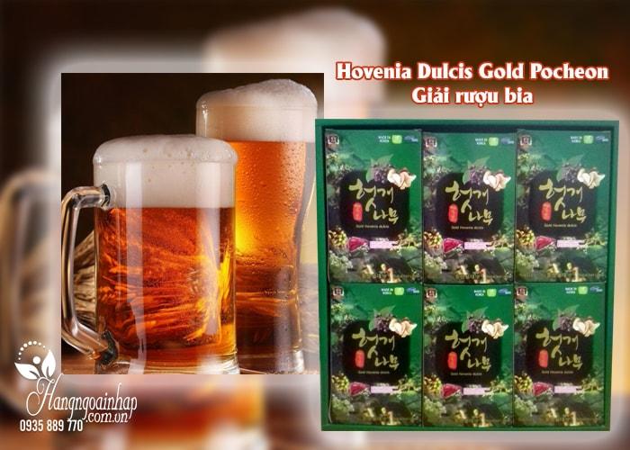 Nước bổ gan giải rượu Hovenia Dulcis Gold Pocheon