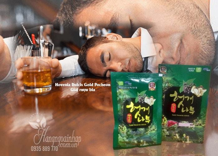Nước bổ gan giải rượu Hovenia Dulcis Gold Pocheon Hàn Quốc