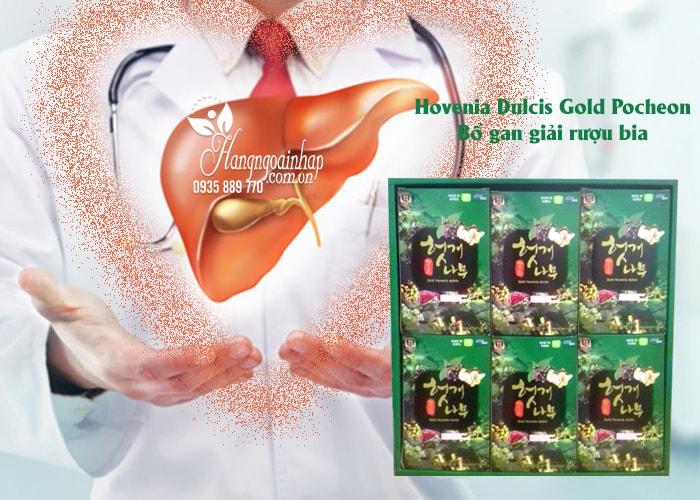 Nước bổ gan giải rượu Hovenia Dulcis Gold Hàn Quốc