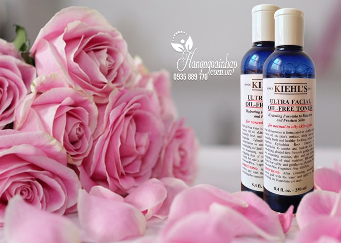 Nước hoa hồng Kiehl's Ultra Facial Oil-Free Toner 250ml của Mỹ