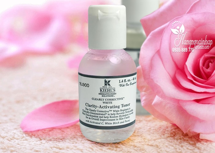 Nước hoa hồng Kiehl's Clearly Corrective White Clarity-Activating
