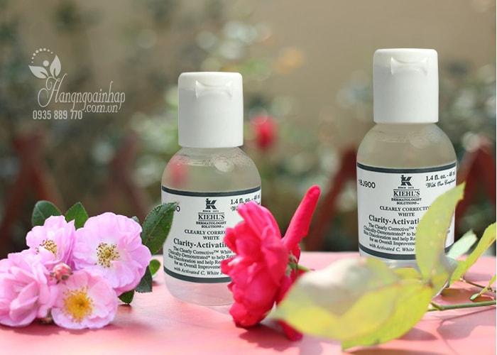 Nước hoa hồng Kiehl's Clearly Corrective White Clarity-Activating 40ml