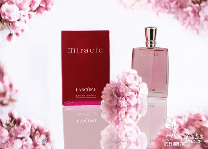 Nước hoa nữ Lancome Paris Miracle 100ml của Pháp