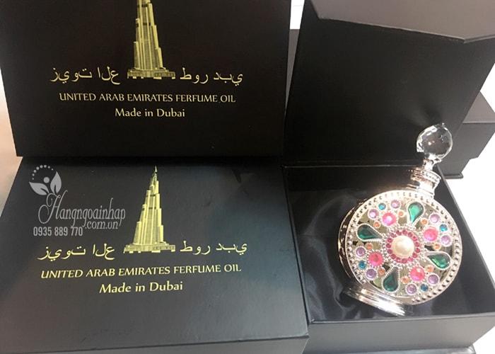 nước hoa tinh dầu Dubai United Arab Emirates Perfume Oil 12ml ajmal chai tròn