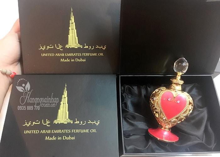 Tinh dầu nước hoa Dubai United Arab Emirates Perfume Oil 12ml, hàng chính hãng