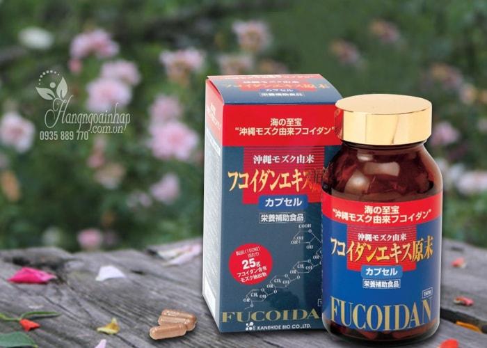 Thuốc hổ trợ điều trị ung thư Okinawa Fucoidan Kanehide Bio 150 viên