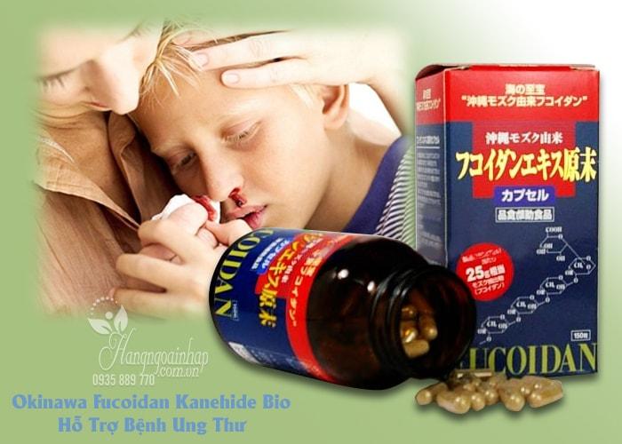 Thuốc hổ trợ điều trị ung thư Okinawa Fucoidan Kanehide Bio của Nhật